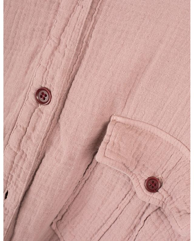 Jaya utilitarian spirit embossed cotton jumpsuit ISABEL MARANT