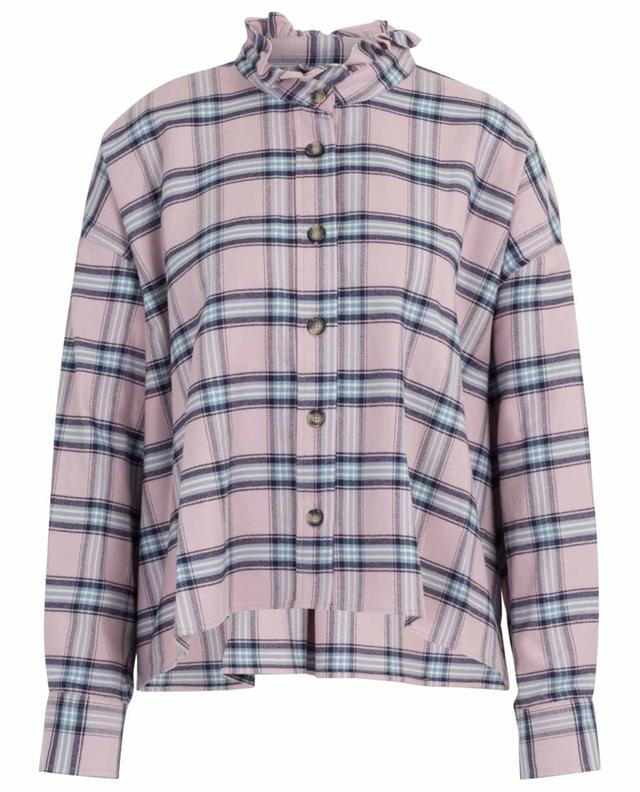 Ilaria loose checked flannel shirt ISABEL MARANT