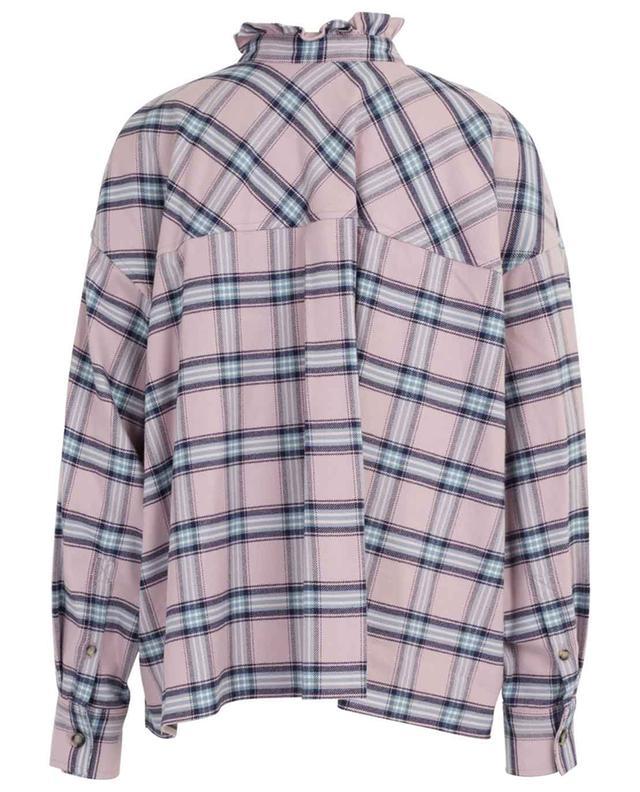 Chemise ample à carreaux en flanelle Ilaria ISABEL MARANT