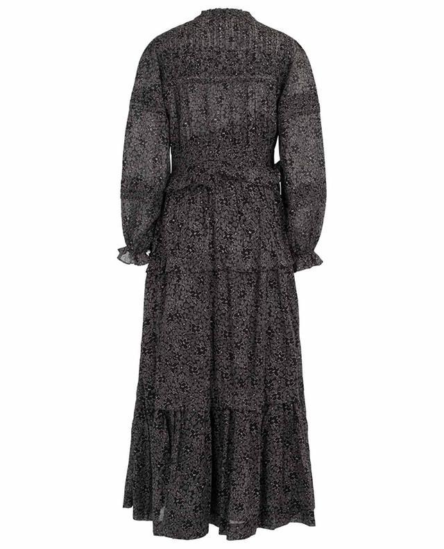 Robe longue fleurie en voile de coton Likoya ISABEL MARANT