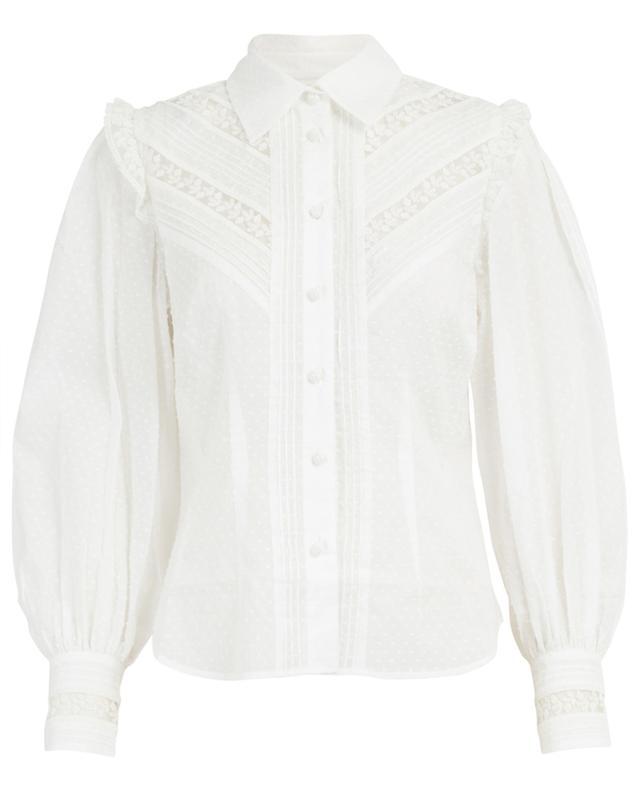 Honour cotton and lace shirt ZIMMERMANN