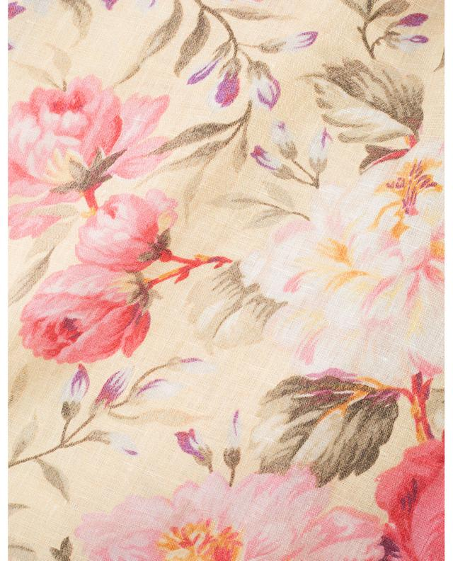 Combinaison fleurie en lin Honour ZIMMERMANN