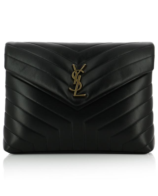 Sac en cuir matelassé monogrammé Loulou Medium SAINT LAURENT PARIS