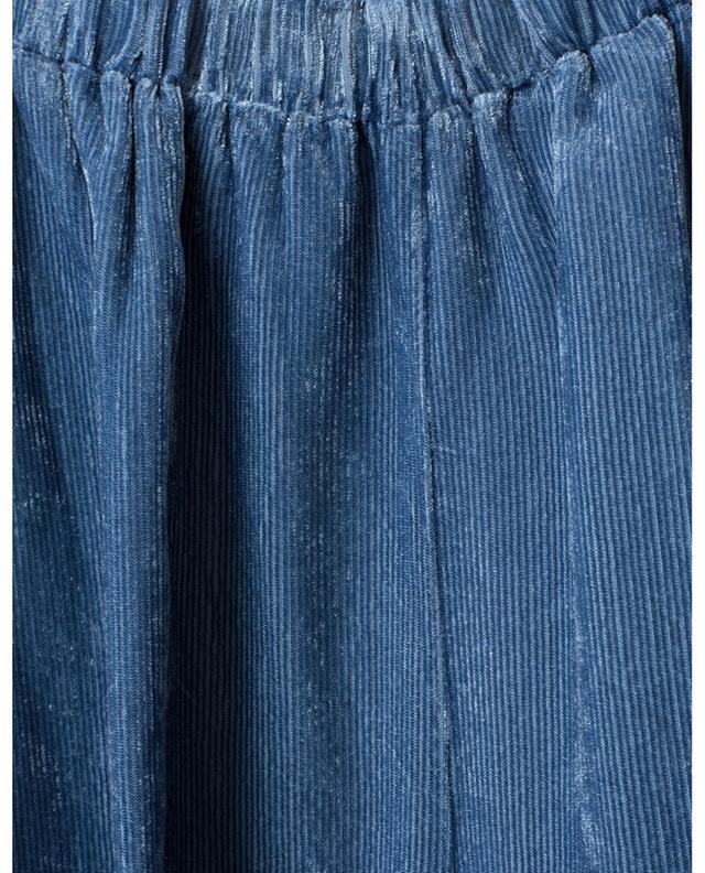 Lounge spirit fine corduroy wide-leg trousers FORTE FORTE
