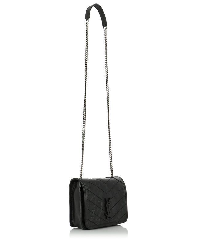 Niki Chain Wallet crinkle leather mini bag SAINT LAURENT PARIS