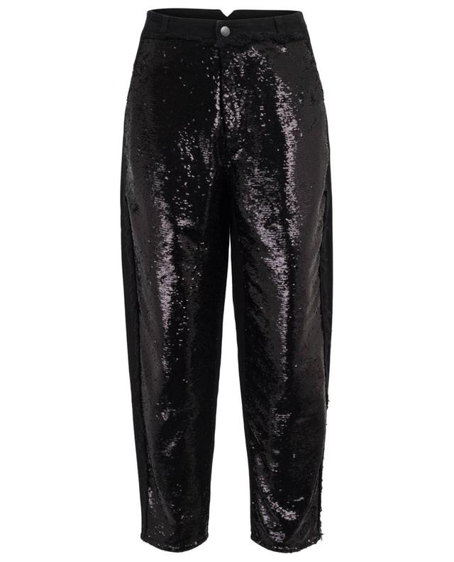 Sequin embroidered carrot jeans PHILOSOPHY