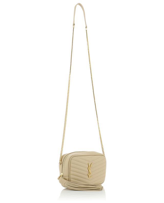 Lou quilted monogrammed mini bag SAINT LAURENT PARIS