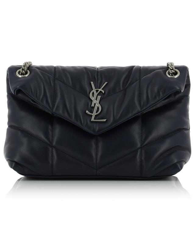 Gesteppte Ledertasche Loulou Puffer Small SAINT LAURENT PARIS