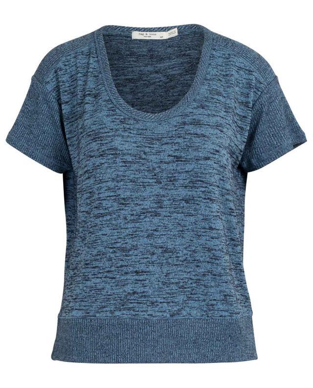 T-shirt ample à encolure maillot Ramona Tee RAG&BONE JEANS