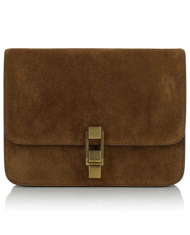 Carré suede satchel SAINT LAURENT PARIS