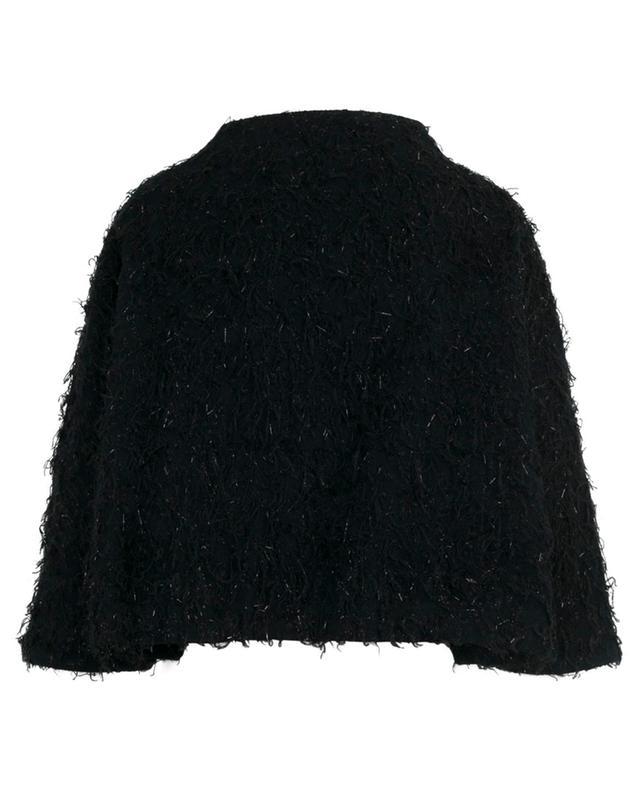 Oven cropped fringed jacket FABIANA FILIPPI