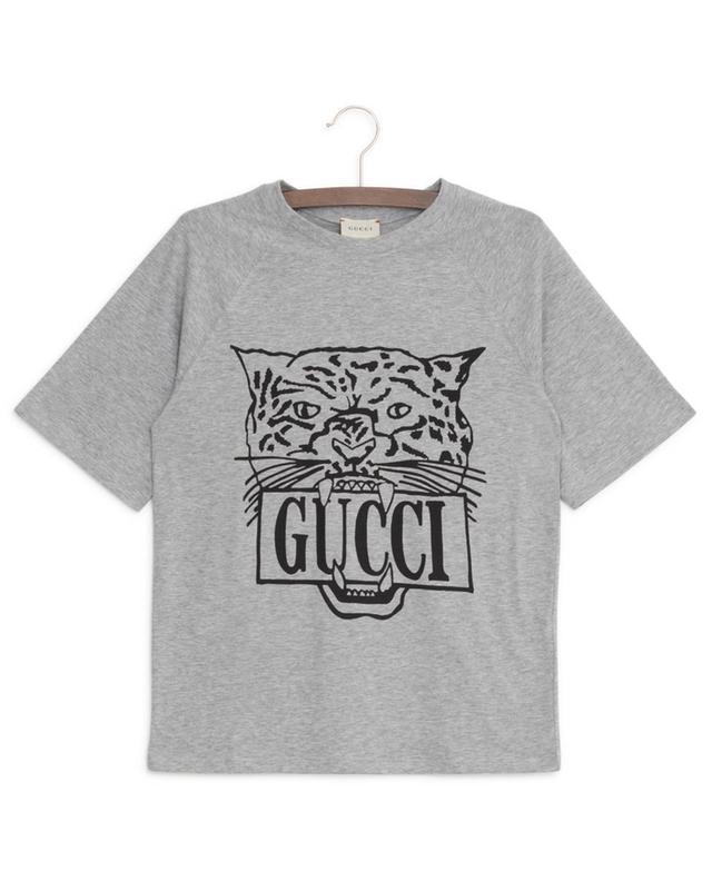 T-shirt à manches raglan courtes Gucci Tiger GUCCI