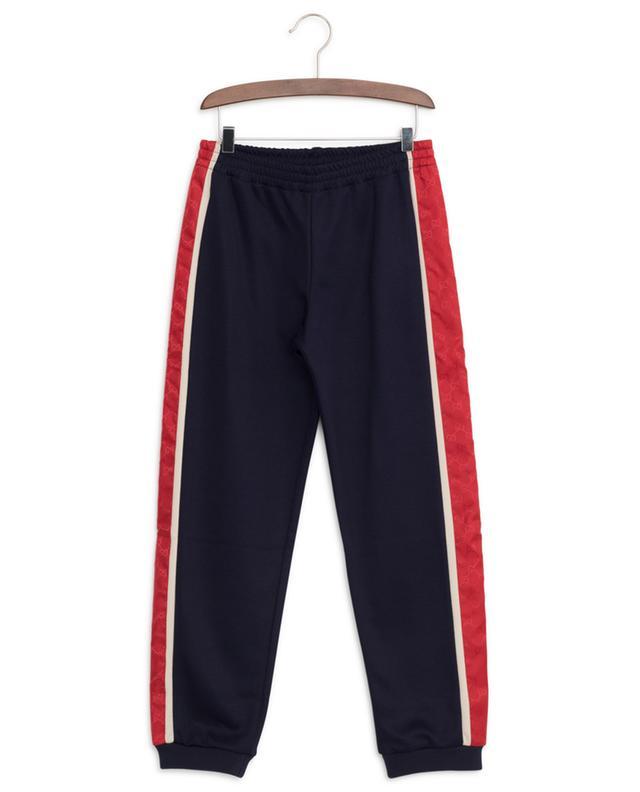 Pantalon de jogging en jersey technique GG Stripe GUCCI