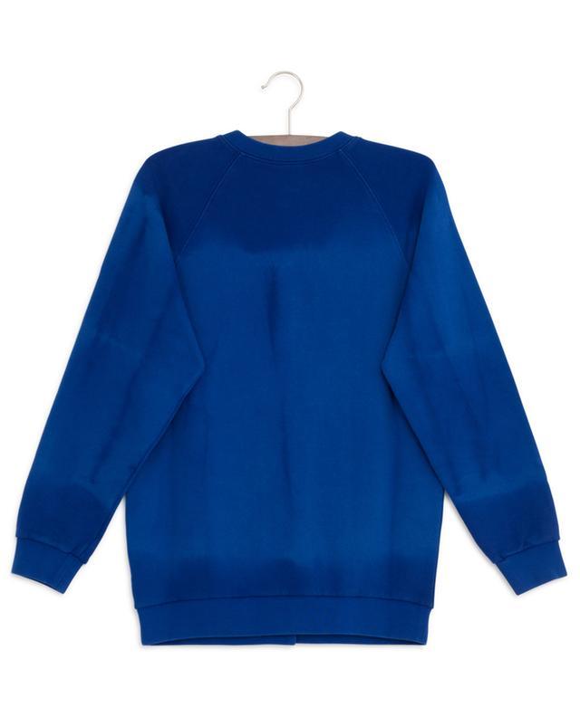 Sweat-shirt boutonné effet tie-dye Interlocking G GUCCI