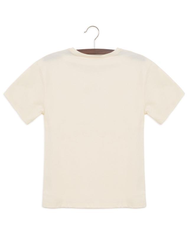 T-shirt brodé ton sur ton Gucci Tennis GUCCI