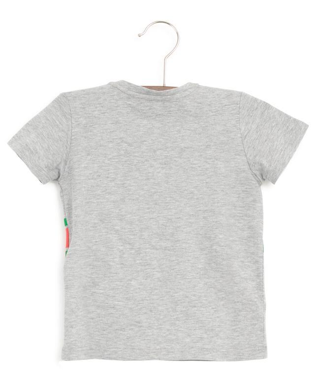 T-shirt imprimé à boutons G Interlocked GUCCI