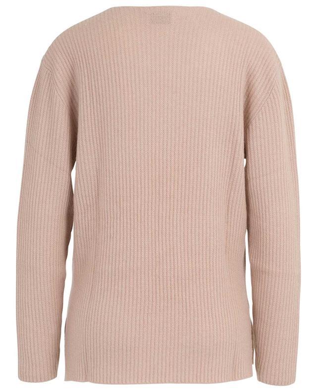 Rib knit V-neck jumper ALLUDE