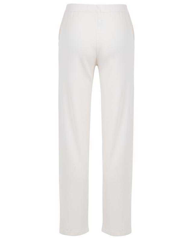 Knit trousers with slits ALLUDE