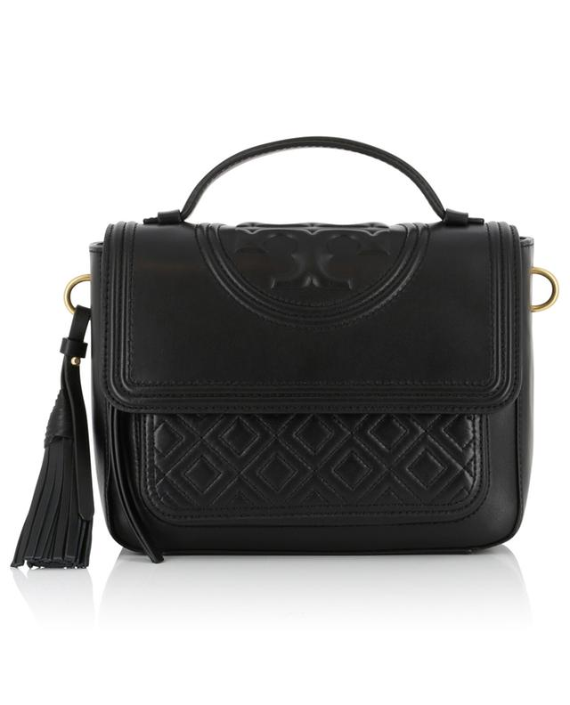 Fleming leather satchel TORY BURCH
