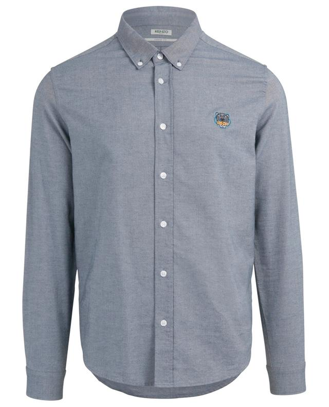 Chemise en chambray Tiger Crest Casual Fit KENZO