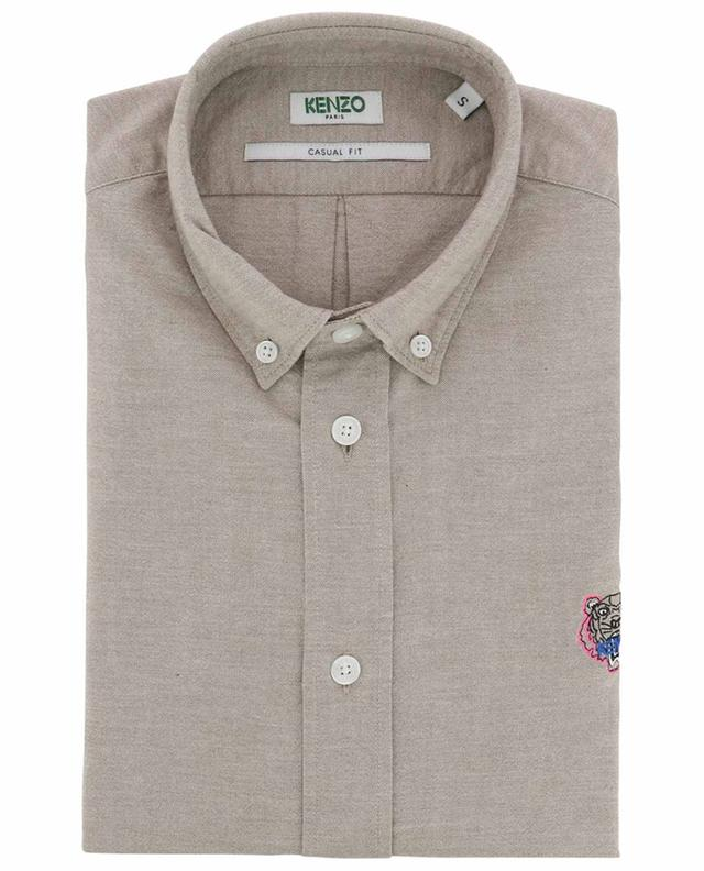 Tiger Crest Casual Fit chambray shirt KENZO