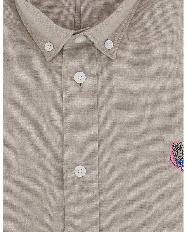 Hemd aus Chambray Tiger Crest Casual Fit KENZO