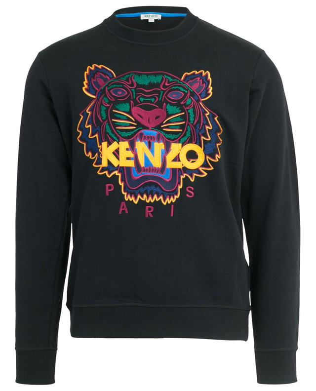 Sweat-shirt brodé Classic Tiger KENZO