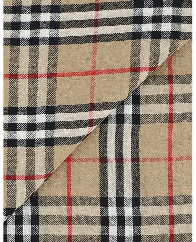 Leichter bestickter Kaschmirschal Vintage Check BURBERRY