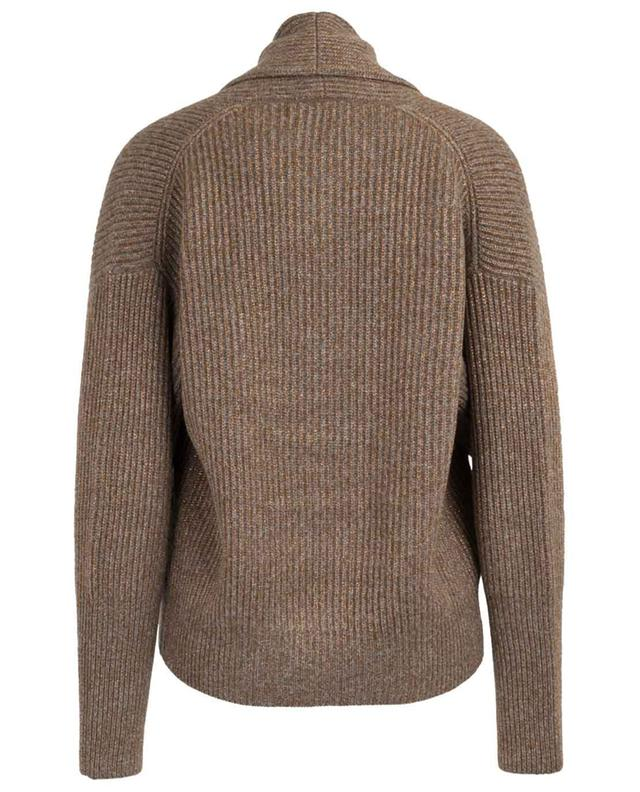 Virgin wool and cashmere blend cardigan BRUNELLO CUCINELLI