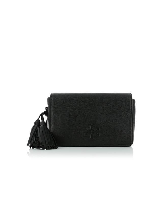 Mini sac porté épaule en cuir grainé Thea TORY BURCH