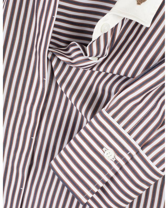 Striped cotton shirt BRUNELLO CUCINELLI