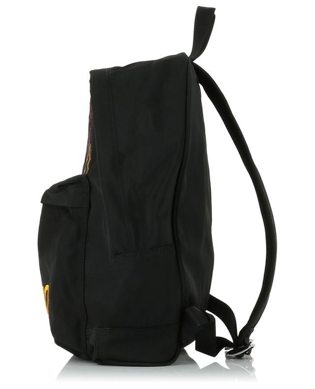 Grand sac à dos en nylon brodé Multicolour Tiger KENZO