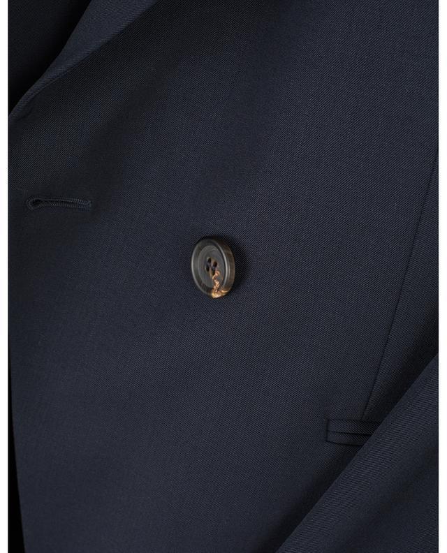 Blazer à double boutonnière en laine mélangée BRUNELLO CUCINELLI
