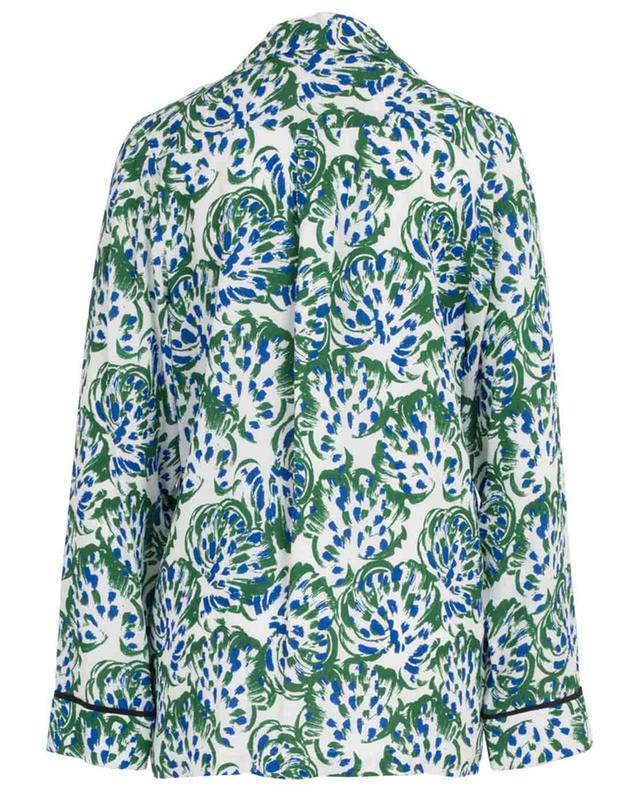Geblümtes fliessendes Hemd im Pyjama-Look VICTORIA BY VICTORIA BECKHAM