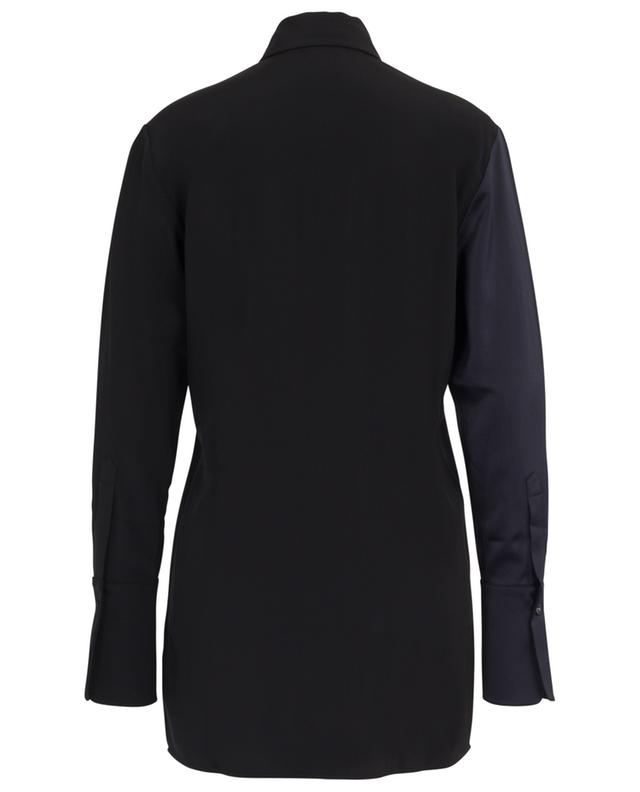 Crepe and satin oversize shirt VICTORIA BY VICTORIA BECKHAM