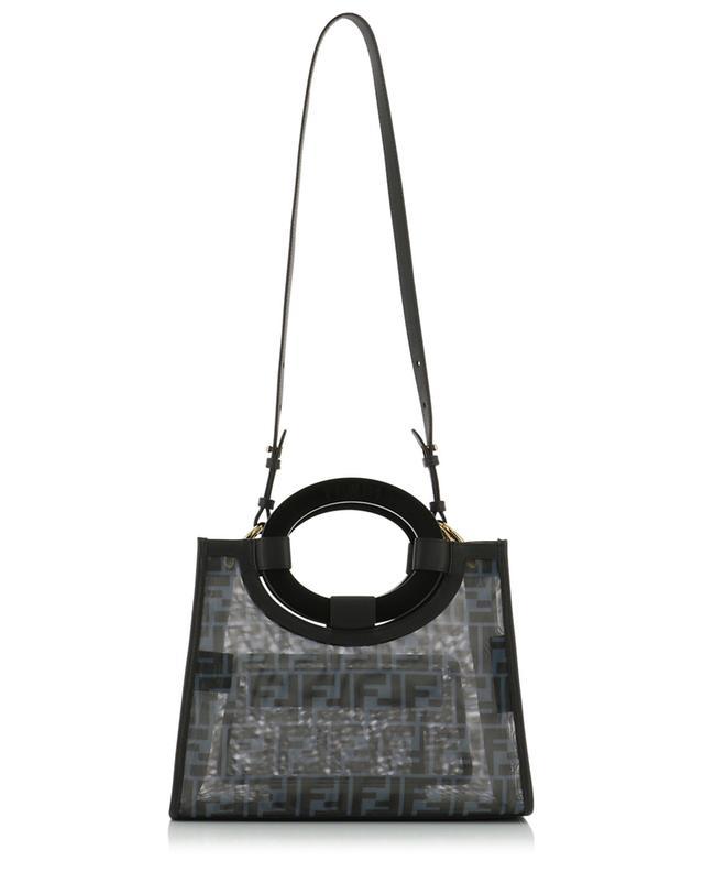 Runaway Small FF print mesh tote bag FENDI