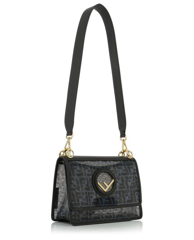 Kan I FF mesh and leather shoulder bag FENDI