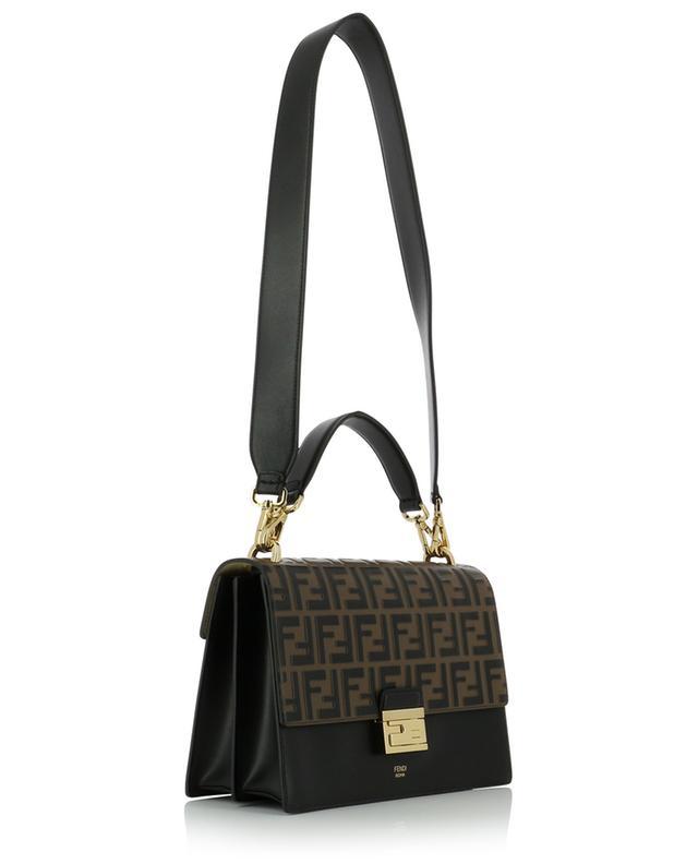 Handtasche aus Leder mit Monogramm Kan I FENDI