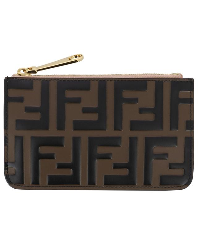 Pochette porte-clés en cuir F is Fendi FENDI