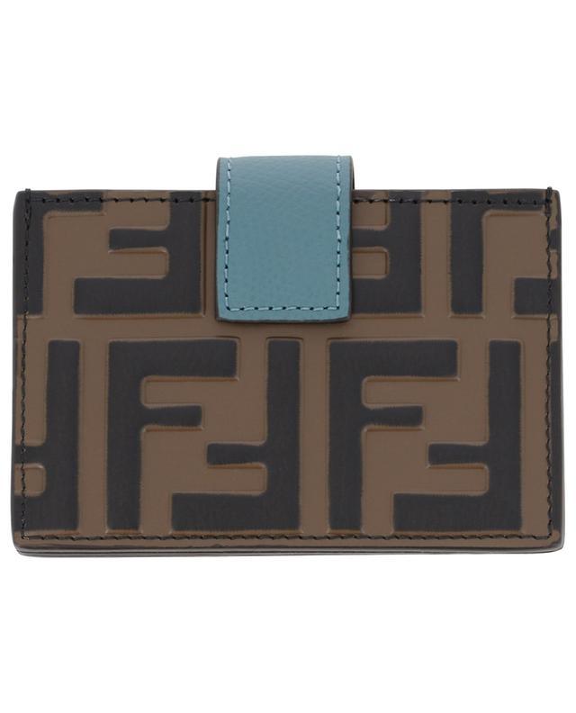 Porte-cartes à soufflets FF FENDI