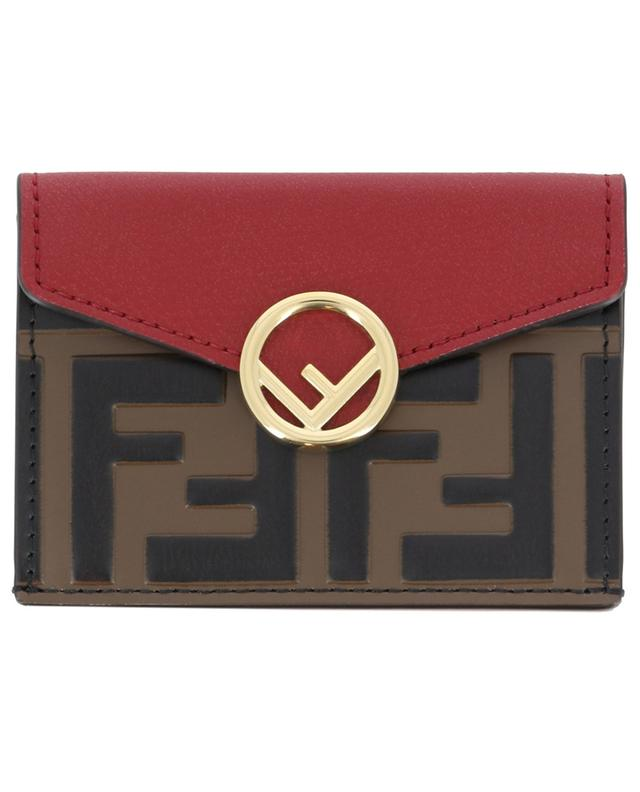 Mini-Brieftasche aus Leder FENDI