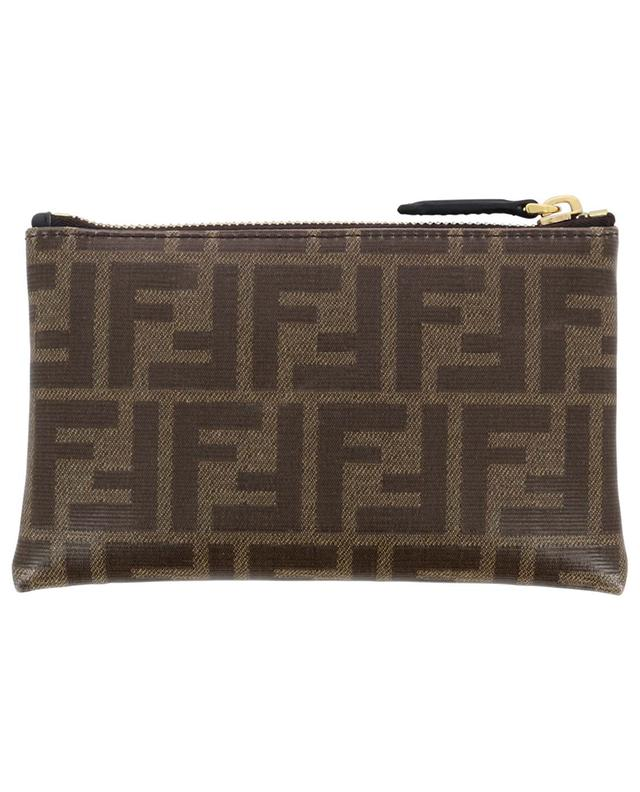 Small FF print fabric pouch FENDI