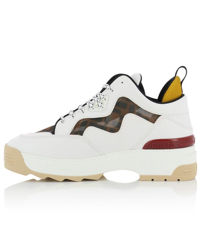Sneakers aus Leder mit Motiv T-Rex FENDI