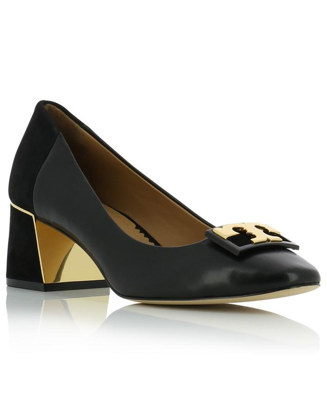 Gigi 55 leather and suede pumps TORY BURCH