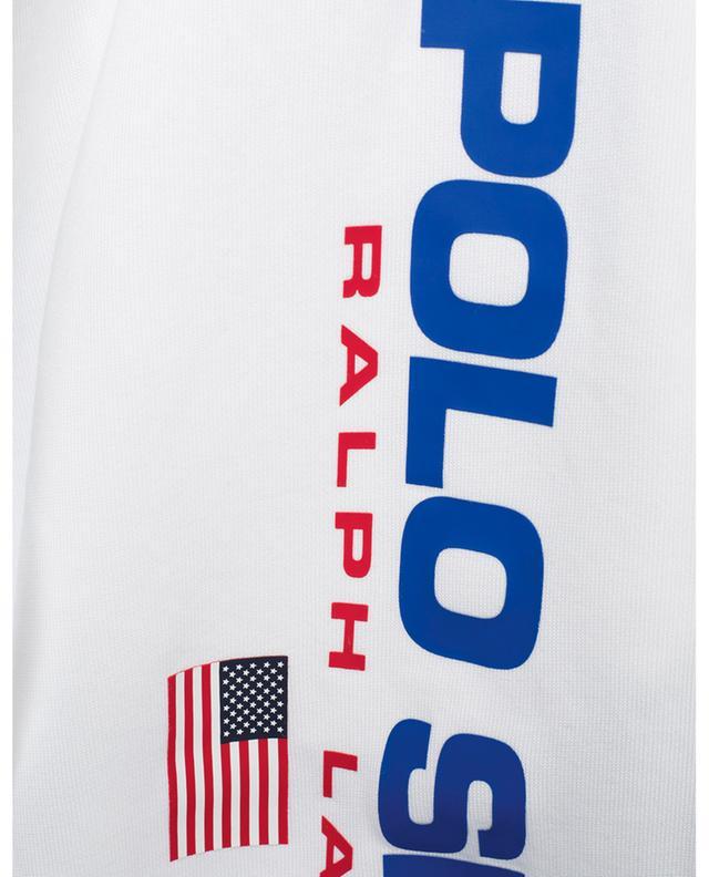 Logo adorned cotton blend Bermuda shorts POLO RALPH LAUREN