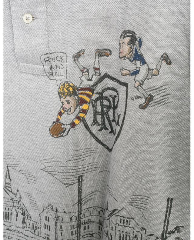 Polo en coton piqué imprimé BD Rugby POLO RALPH LAUREN