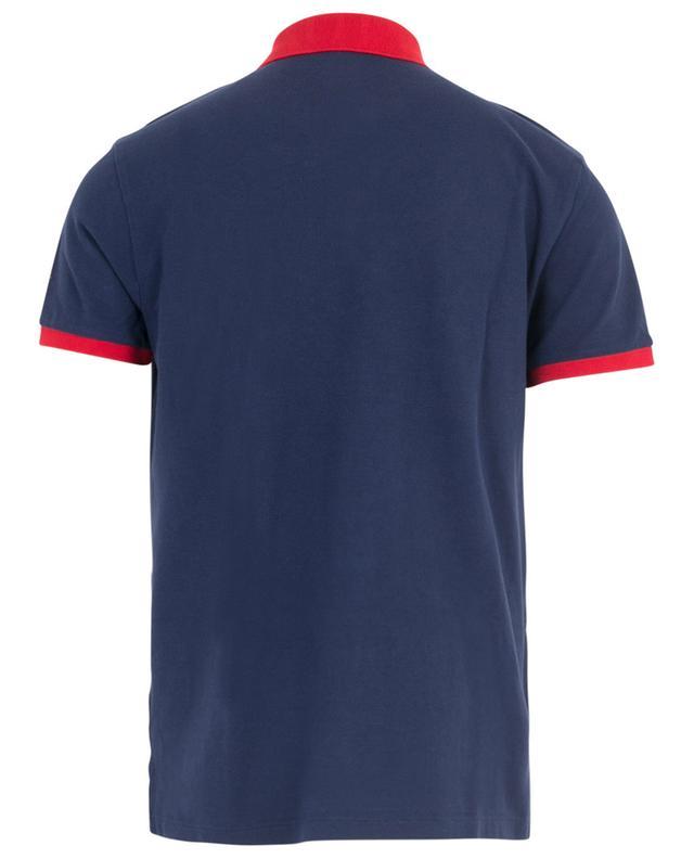 Polo slim bicolore en coton piqué Macro Logo POLO RALPH LAUREN
