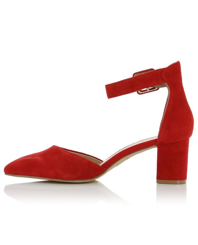 Burlington ankle strap suede pumps KURT GEIGER LONDON