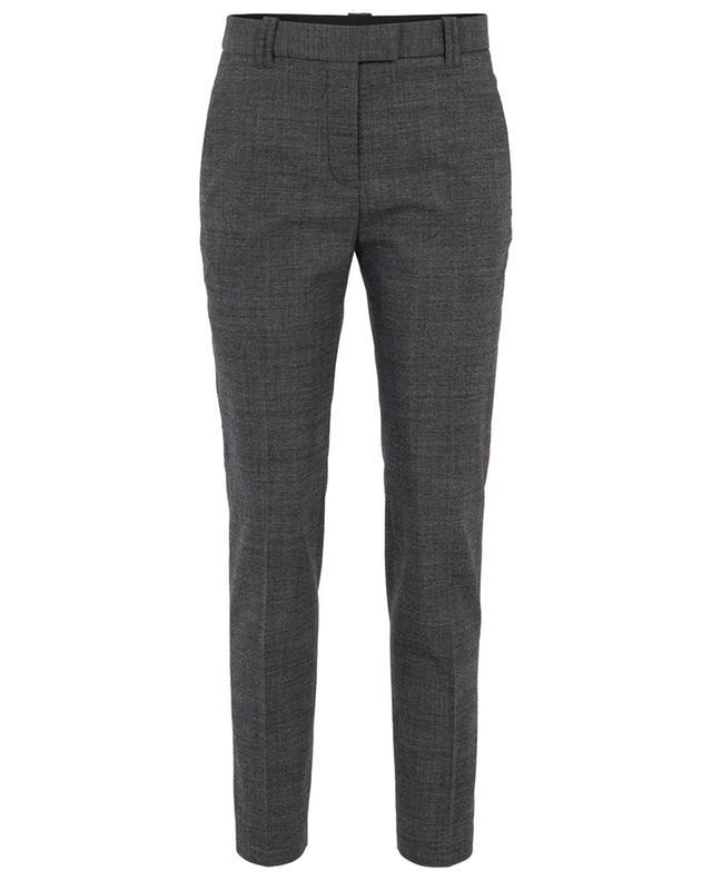Wool blend printed tapered trousers BARBARA BUI