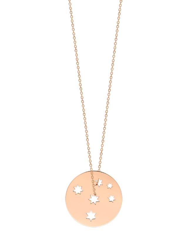 Collier en or rose Milky Way GINETTE NY